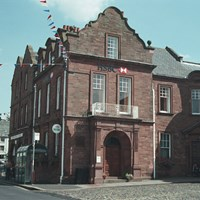 Bank and Bank Offices, Market Place, Brampton, Cumbria