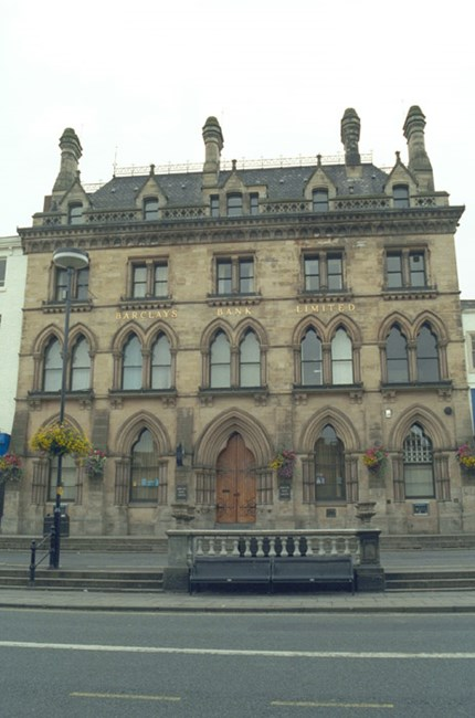 Barclays Bank, 27, High Row, Darlington