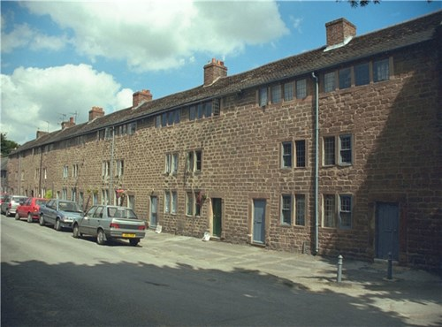 The Arkwright Houses, Cromford, Derbyshire