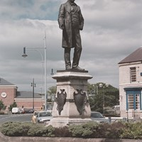 Monument to Ralph Ward Jackson, Church Square, Hartlepool