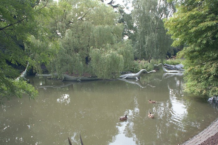 27 Prehistoric Monsters, Crystal Palace Park, Penge, Greater London