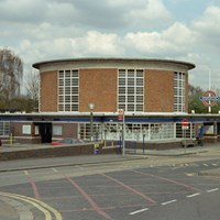 Arnos Grove Station, Bowes Road, Enfield, Greater London