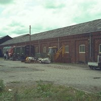 Carriage Shed at Locomotive Works, Baron Street, Bury, Greater Manchester
