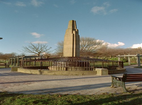 Monument to Sarah Lees, Werneth Park, Oldham, Greater Manchester