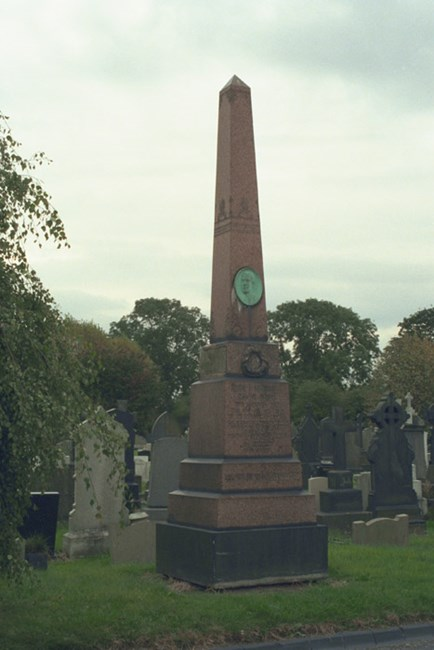 Mark Addy Memorial, Cemetery Road, Salford, Greater Manchester