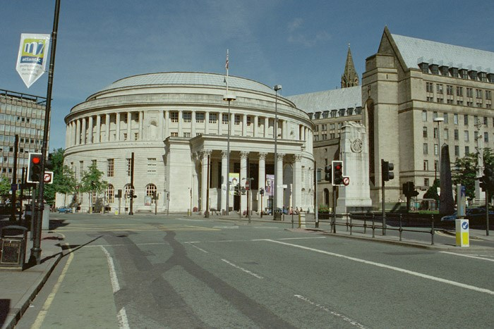 Central Public Library, St Peter's Square, Manchester, Greater Manchester