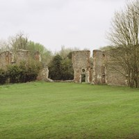 Sopwell Nunnery Ruins, Cottonmill Lane, St Albans, Hertfordshire