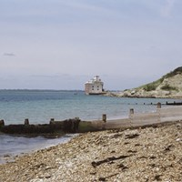 Fort Albert, Cliff End, Freshwater, Isle of Wight