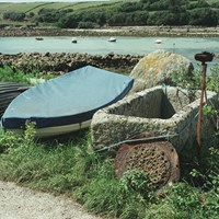 Fish Salting Trough, Old Town Bay, St Marys, Isles of Scilly