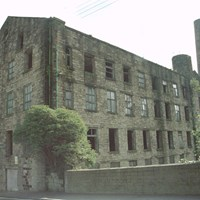 Clock Tower Mill, Sandygate, Burnley, Lancashire