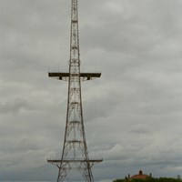 Chain Home Transmitter Tower, RAF Stenigot, Donnington on Bain, Lincolnshire