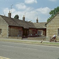 Almshouses, Church Street, Market Deeping, Lincolnshire