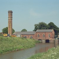 Lade Bank Lock Pumping Station, Old Leake, Lincolnshire