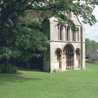 Remains of St Leonard's Priory, Priory Road, Stamford, Lincolnshire
