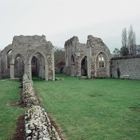 Creake Abbey Church, North Creake, Norfolk
