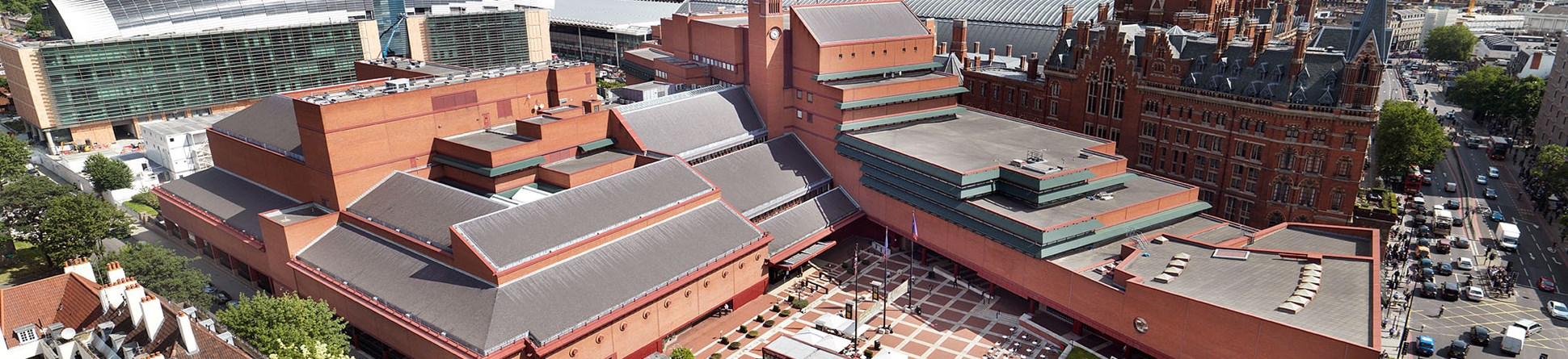 British Library external view