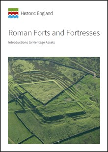 Front cover for Introductions to Heritage Assets: Roman Forts and Fortresses