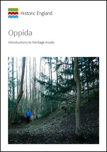 Front cover for Introductions to Heritage Assets: Oppida