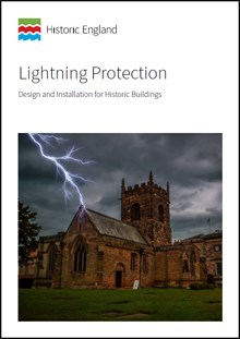 Front cover for Lightening Protection: Design and installation for historic buildings