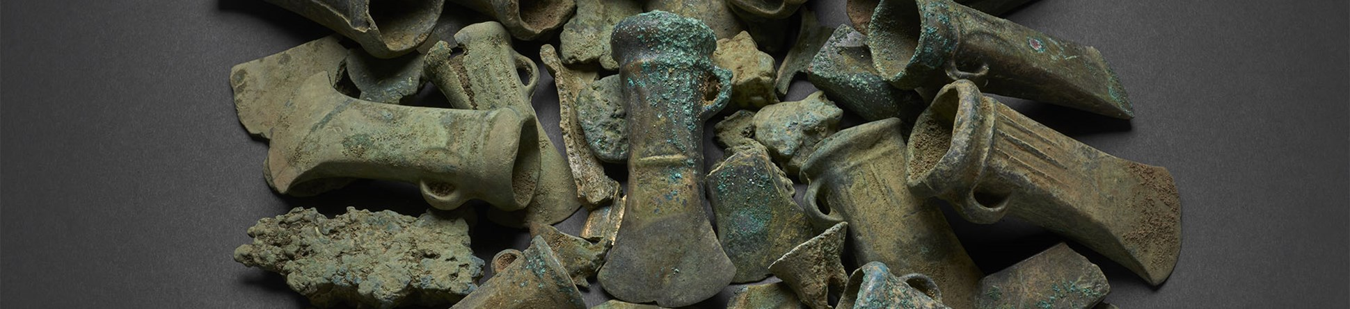 A selection of objects from the Havering Hoard