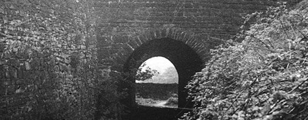 Fritchley tunnel in 1946
