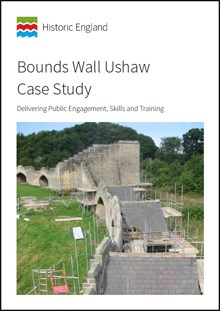 Front cover for Bounds Wall Ushaw Case Study