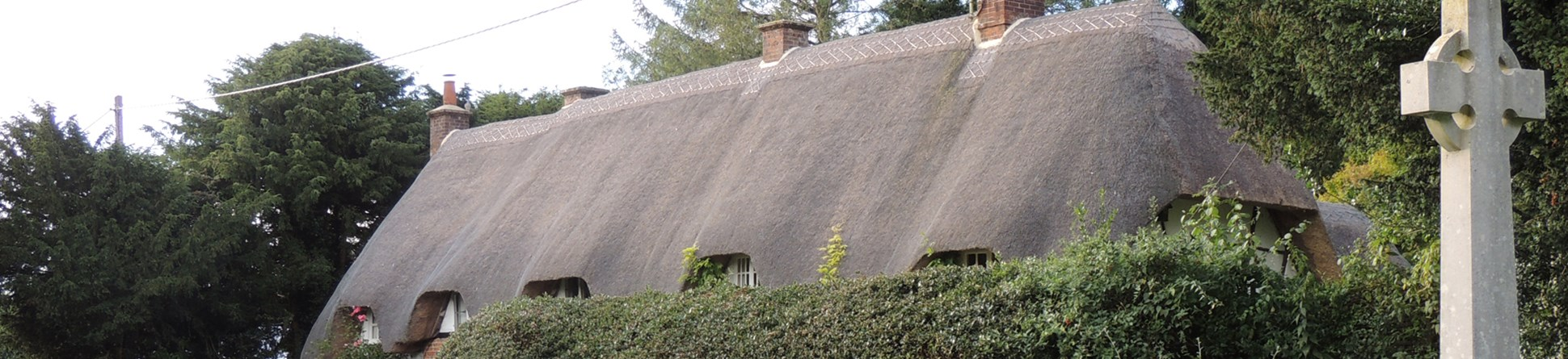 An image of a thatched roof