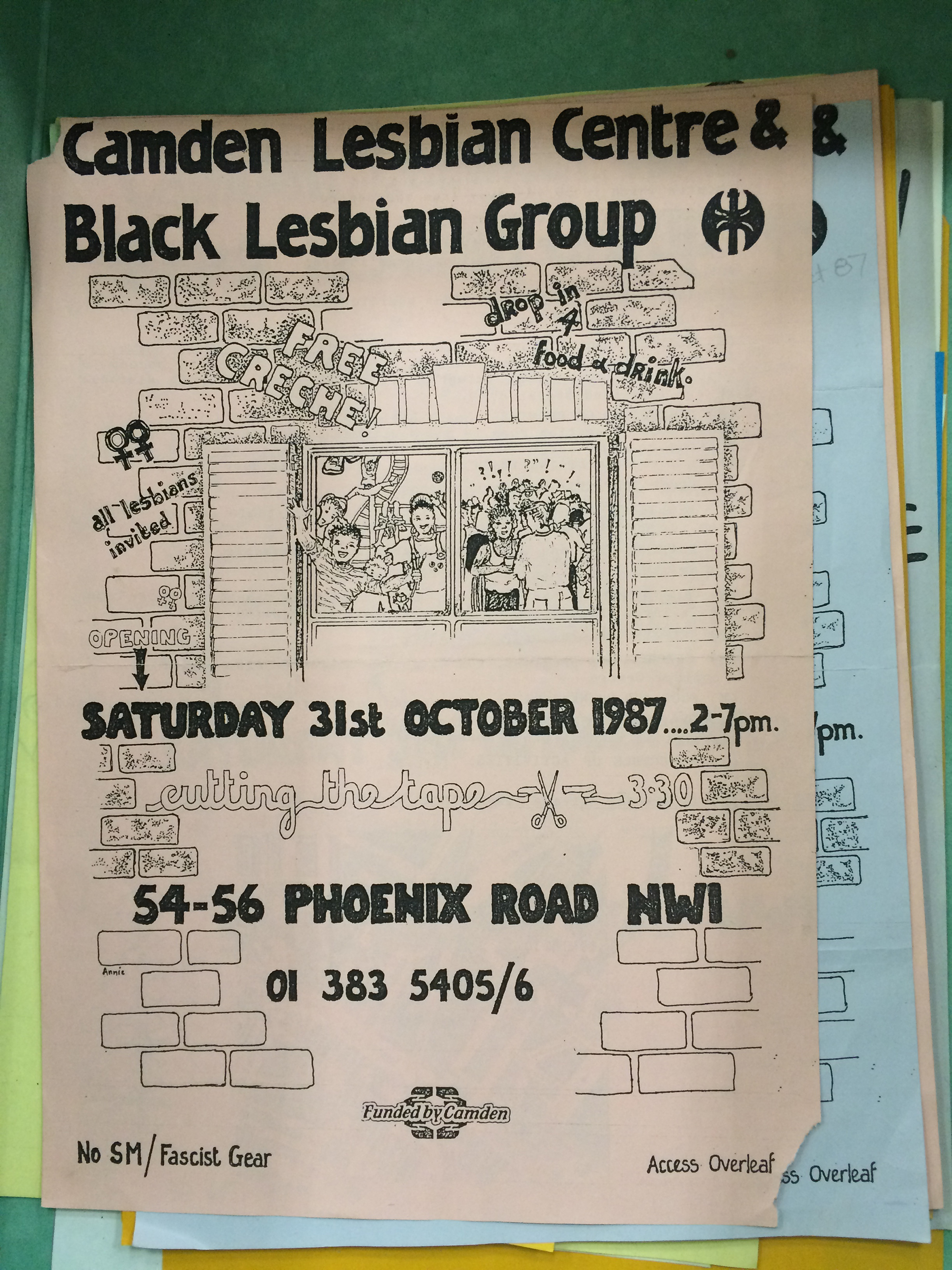 group of black lesbians