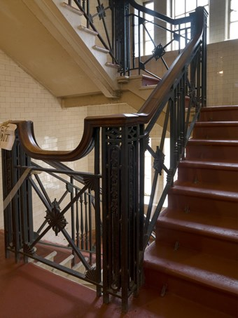 Principle stair in Driscoll House Hotel