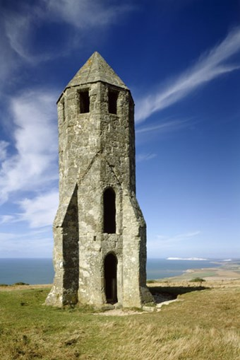 The 'Pepperpot' or St Catherine's Oratory at St Catherine's Point, Isle of Wight