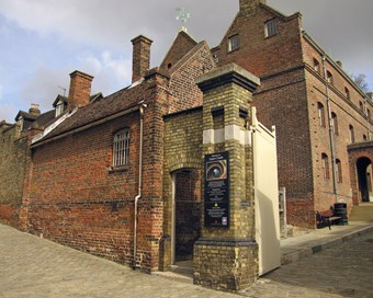 The barracks constructed in 1718 at Upnor