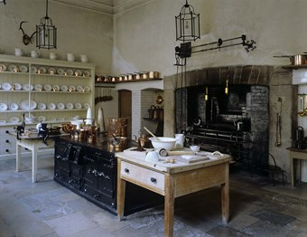 The Great Kitchen at Saltram