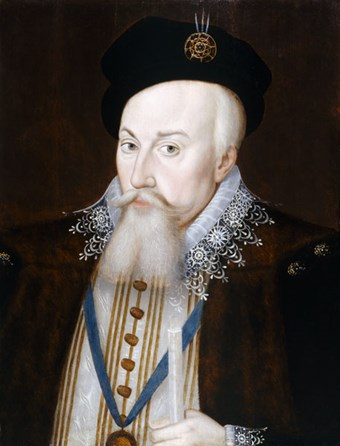 Robert Dudley, Earl of Leicester by William Segar