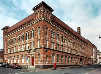W. E. Wiley's Turkish baths at this pencil factory, Birmingham