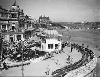 Bandstand and ballroom, Scarborough, North Yorkshire