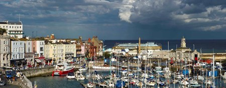 View of Ramsgate harbour