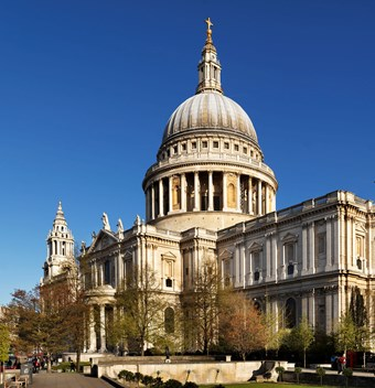 St Paul's Cathedral, general view from south east