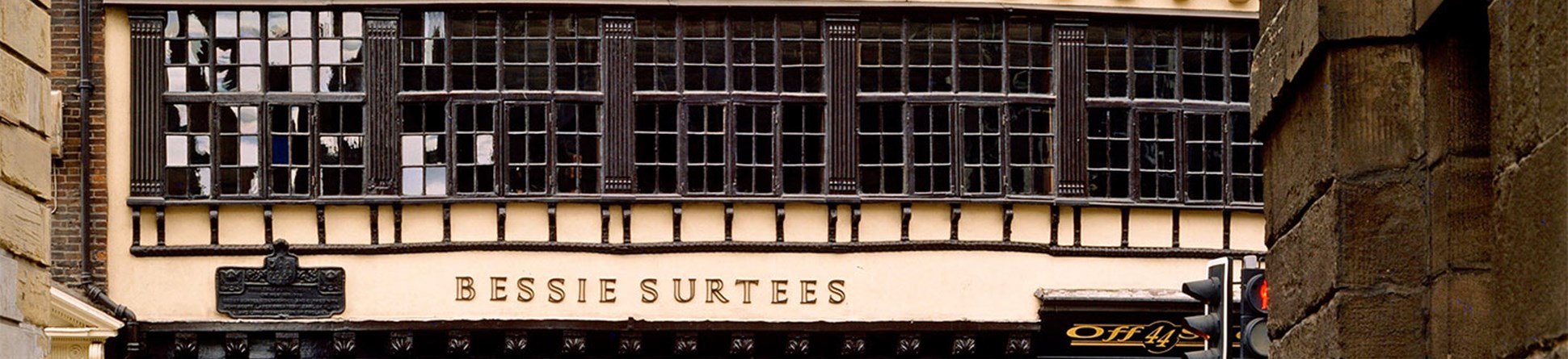 Exterior view of Bessie Surtees House from Watergate lane