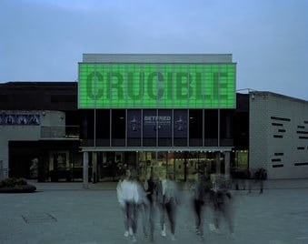 Crucible Theatre, Sheffield (Grade II listed) © Historic England