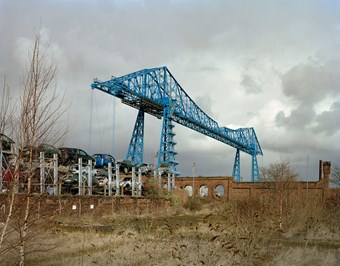 Tees Transporter Bridge, Middlesbrough, Stockton-upon-Tees (Grade II* Listed) © Historic England