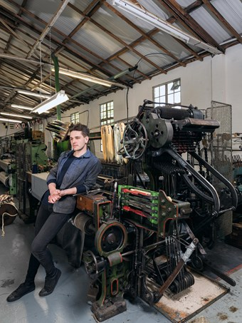Daniel Harris, London Cloth Mill, Epping Forest