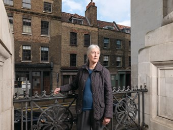 Gillian Tindall, Christ Church Spitalfields