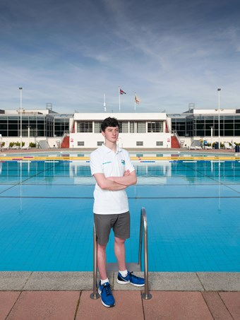 Mitchell Adams, Hillingdon Sports and Leisure Complex