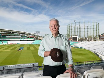 Bill Gordon, Kia Oval, Kennington