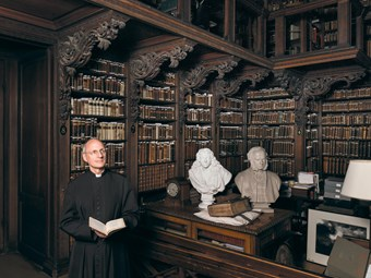 The Very Reverend Dr David Ison, St Paul's Cathedral Library