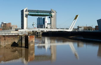 Built 1977-1980 Hull's Tidal Surge Barrier is now Grade II listed