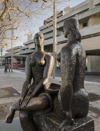 London Pride by Frank Dobson, South Bank, London, 1951. Listed Grade II © Historic England
