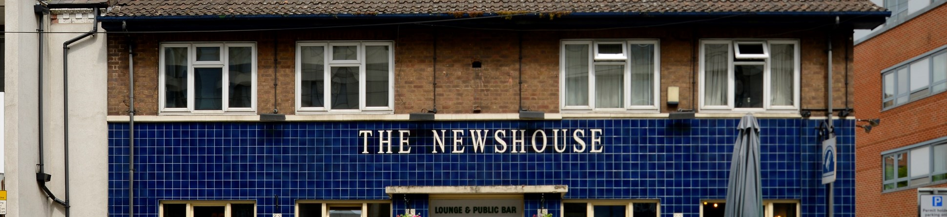 Image of Newshouse pub, Canal Street, Nottingham. Probably built or rebuilt in the early 1960s