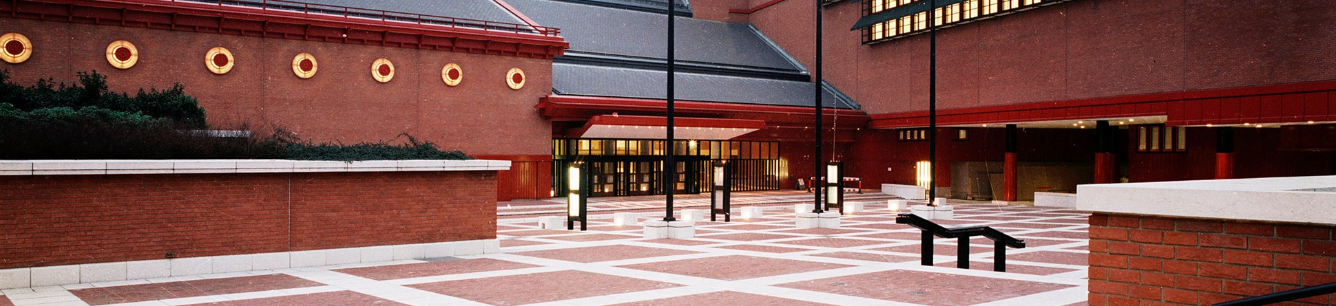 Exterior photo of the British Library