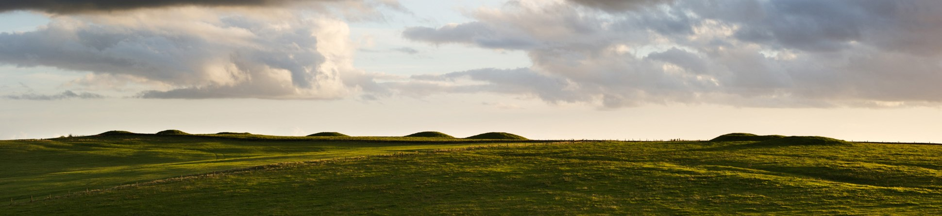 Image showing general view of Nine Barrows, Priddy, Wells, Somerset.